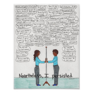 Nevertheless, I Persisted Poster