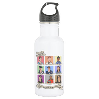 Nevertheless, She Persisted 18 oz. Water Bottle