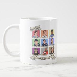 Nevertheless, She Persisted 20 oz. Jumbo Mug