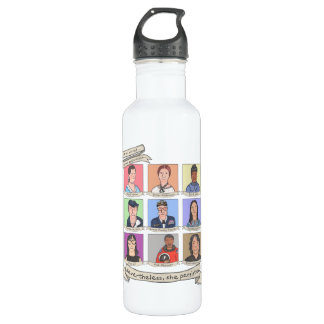 Nevertheless, She Persisted 24 oz. Water Bottle