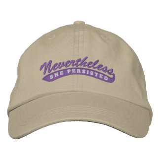 Nevertheless, she persisted. Baseball Cap
