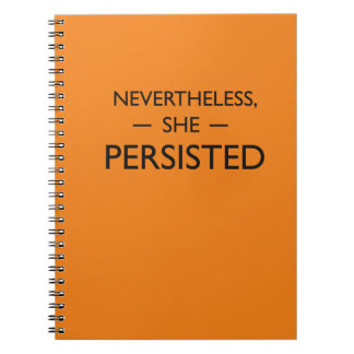 Nevertheless she persisted statement notebook
