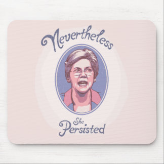 Nevertheless, She Pesisted Mouse Pad