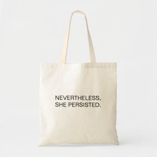 Nevertheless... tote