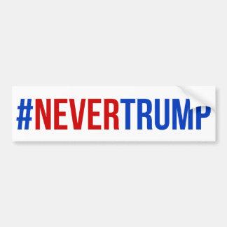 #nevertrump bumper sticker
