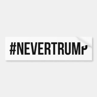 NeverTrump Bumper Sticker