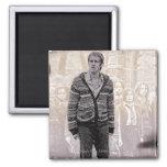 Neville Longbottom 2 Square Magnet