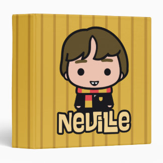Neville Longbottom Cartoon Character Art Binders