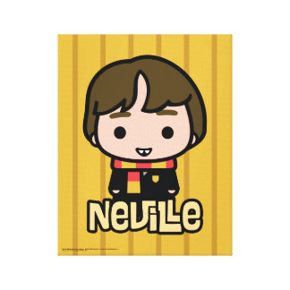 Neville Longbottom Cartoon Character Art Canvas Print