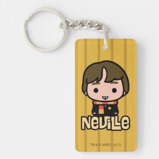 Neville Longbottom Cartoon Character Art Keychain