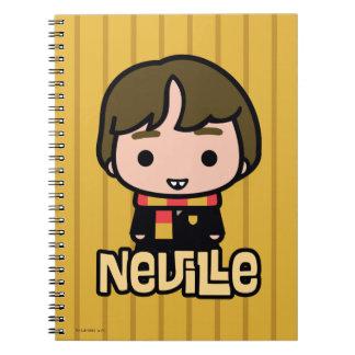 Neville Longbottom Cartoon Character Art Notebooks