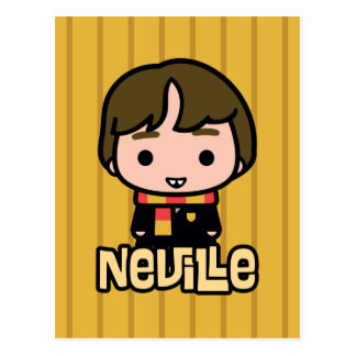 Neville Longbottom Cartoon Character Art Postcard