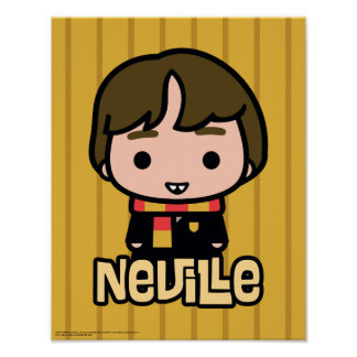 Neville Longbottom Cartoon Character Art Poster