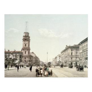 Nevsky Prospekt, St. Petersburg Postcard
