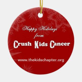 *NEW 2013* Crush Kids Cancer Ornament