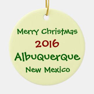 NEW 2016 Albuquerque New Mexico CHRISTMAS ORNAMENT