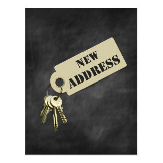 New Address Home or Business Postcard