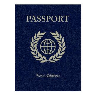 new address passport postcard