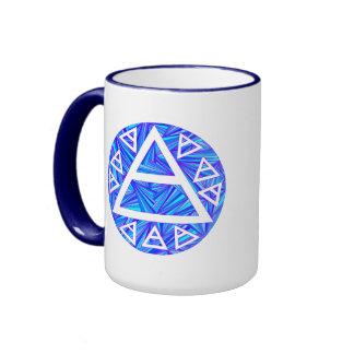 New Age Air Symbol Triad Art Coffee Mug