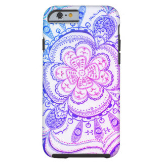 New Age Colorful Mandala by Megaflora Design Tough iPhone 6 Case