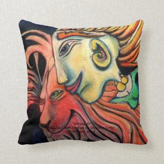 New age decorative pillow. throw pillow