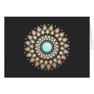 New Age Lotus Logo Holistic Salon and Spa Card