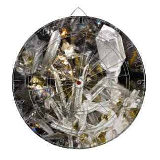 New Age Spiritual Crystal Rock Gemology Dart Boards