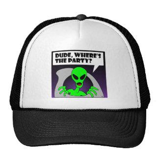 new alien party trucker hat