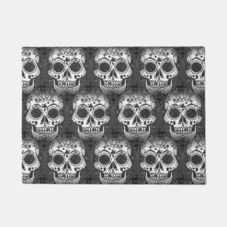 New allover skull pattern doormat