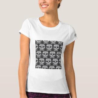 New allover skull pattern t-shirt