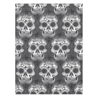 New allover skull pattern tablecloth
