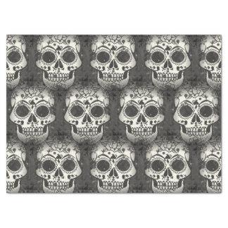 New allover skull pattern tissue paper