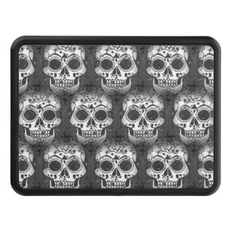 New allover skull pattern trailer hitch cover
