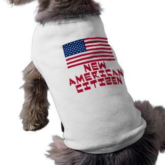 New American Citizen with American Flag Shirt