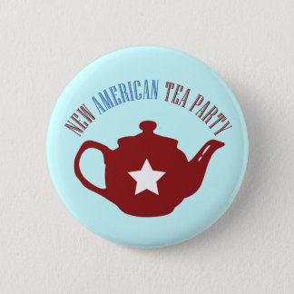 New American Tea Party 2 Inch Round Button