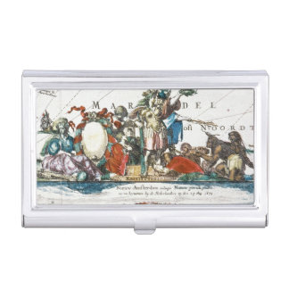 NEW AMSTERDAM, 1673 BUSINESS CARD CASE