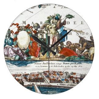NEW AMSTERDAM, 1673 WALLCLOCKS