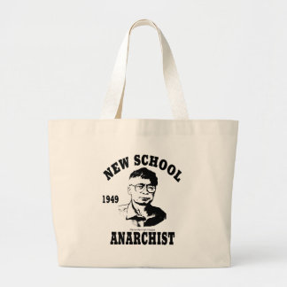 New Anarchists -- Hans-Hermann Hoppe Large Tote Bag