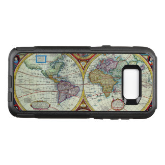 New and Accurate 1626 Map of the World OtterBox Commuter Samsung Galaxy S8+ Case