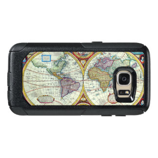 New and Accurate 1626 Map of the World OtterBox Samsung Galaxy S7 Case