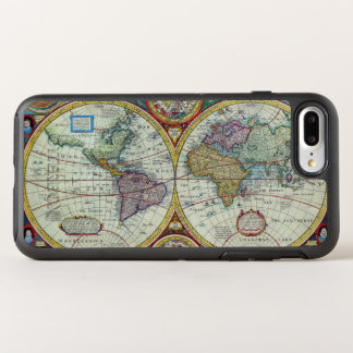 New and Accurate 1626 Map of the World OtterBox Symmetry iPhone 8 Plus/7 Plus Case