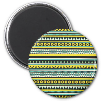 New andes pattern 2 inch round magnet