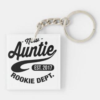 New auntie 2017 keychain