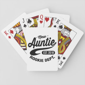New Auntie 2018 Playing Cards
