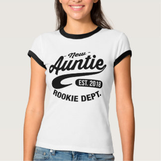 New Auntie 2018 T-Shirt