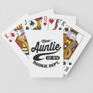 New Auntie 2019 Playing Cards