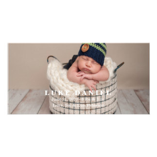 New Baby Announcement Photo Cards