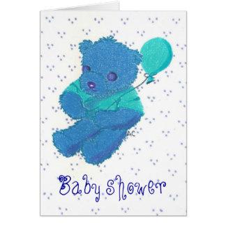 New Baby Boy , Baby shower Card