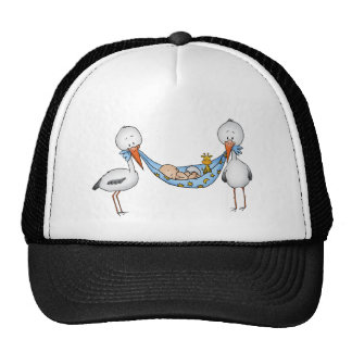 New Baby Boy - Baby Shower Gift Hat