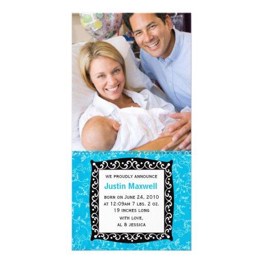 New Baby Card Custom Photo Card